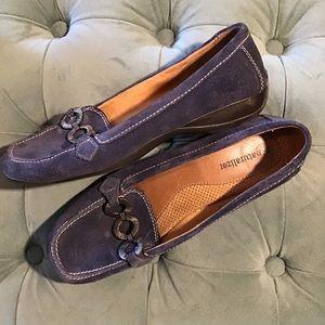 NATURALIZER casper comfy suede loafers navy 7